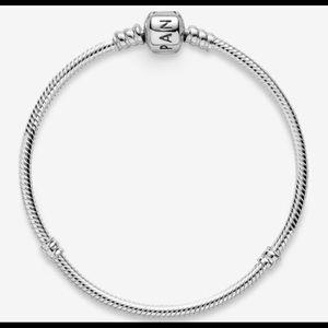 "Authentic Pandora Iconic Silver Charm Bracelet 8"""